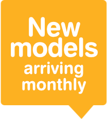 New models arriving every week