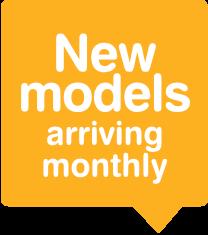New models arriving every week